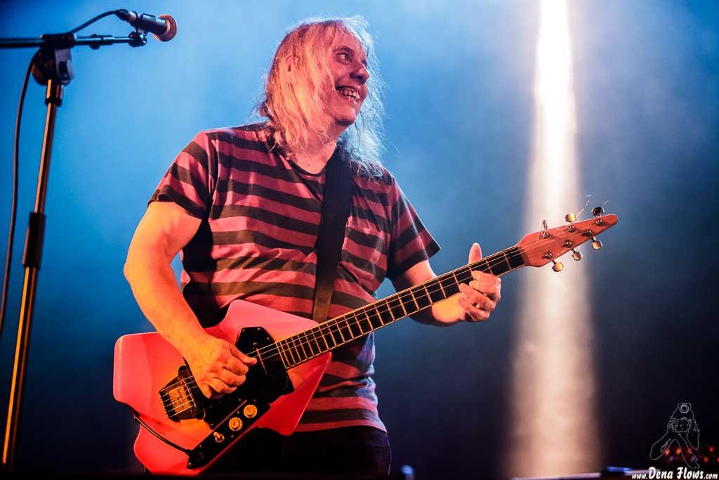 Nick Saloman, cantante y guitarrista de The Bevis Frond (Andoaingo Rock jaialdia 2017, Andoain, 17/VI/2017)