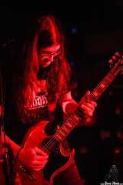 Miguel Moral, guitarrista y cantante de Positiva, Barakaldo. 2006
