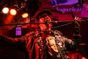 Billy Hopeless, cantante de The Black Halos (Freakland Festival, Ponferrada, 2006)