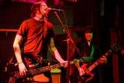 Denyss McKnight -bajo- y Rich Jones -guitarra- de The Black Halos (Freakland Festival, Ponferrada, 2006)