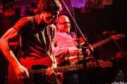 Octavio Vinck -guitarra- y Paul Collins -voz y guitarra- de The Paul Collins Beat, Freakland Festival, Ponferrada. 2006