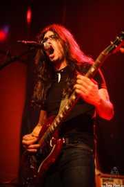Miguel Moral, guitarrista y cantante de Positiva, Bilbao. 2006