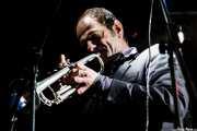Trompetista, trombonista y armonicista de Hugo Race (Sala Tótem, Atarrabia (Villaba), 2006)