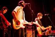 Pablo Jaén -guitarra invitado-, Diego Rodríguez, -guitarra y voz-, Raúl Rodríguez -bajo y voz- y Edu Guzmán -batería- de Manett, Bilborock, Bilbao. 2006