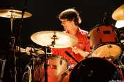 Cody Dickinson, baterista y teclista de North Mississippi Allstars, Kafe Antzokia, Bilbao. 2006