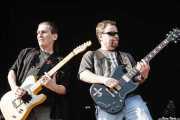 Allen Lanier -guitarrista- y Eric Bloom -cantante y guitarrista- de Blue Öyster Cult (14/07/2006)