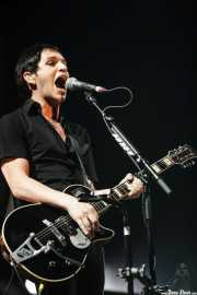 Brian Molko, cantante y guitarrista de Placebo, Bilbao BBK Live. 2006