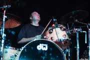 Artemio Pérez, baterista de Los Enemigos, Sala Albéniz, 2006