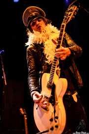 Javi Diesel, cantante y guitarrista de The Diesel Dogs (Bilborock, Bilbao, 2006)