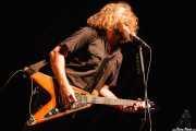 Jim James, cantante y guitarrista de My Morning Jacket, Azkena Rock Festival, Vitoria-Gasteiz. 2006