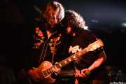 Jeff Massey -voz y guitarra- y Jony Moreno -cantante invitado- de The Steepwater Band (Sala Azkena, Bilbao, 2006)