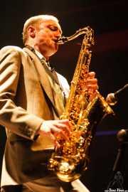 Terry Edwards, saxofonista y teclista de Gallon Drunk (Kafe Antzokia, Bilbao, 2006)