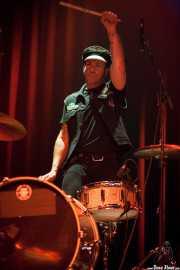 """Max """"Stinko"""" Eidson, baterista de The Lords Of Altamont (Kafe Antzokia, Bilbao, 2006)"""