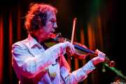 Jim Morrison, violinista y mandolinista de Alan Tyler And The Lost Sons Of Littlefield (Kafe Antzokia, Bilbao, 2006)
