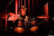 Phil Vancouver, baterista de Alan Tyler And The Lost Sons Of Littlefield (Kafe Antzokia, Bilbao, 2006)