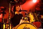 Jessie Best, baterista de Muck & The Mires, Santana 27, Bilbao. 2006