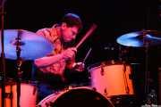 Matt Rost, baterista de The Muggs, Bilbao. 2007