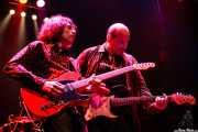 Octavio Vinck -guitarra- y Paul Collins -voz y guitarra- de The Paul Collins Beat, Kafe Antzokia, Bilbao. 2007