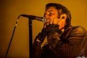 Trent Reznor, cantante y guitarrista de Nine Inch Nails, Pabellón de La Casilla, Bilbao. 2007
