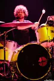 Roy Berry, baterista de Lucero (Kafe Antzokia, Bilbao, 2007)