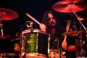 Julen Gil, baterista de Positiva, Bilbao. 2007