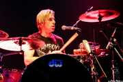 Gene Trautmann, baterista de The Eagles of Death Metal, Kafe Antzokia, Bilbao. 2007