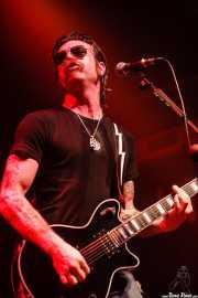 Jesse Hughes, cantante y guitarrista de The Eagles of Death Metal, Kafe Antzokia, Bilbao. 2007