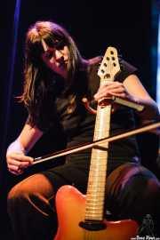 Nuria Monés, guitarrista de Anímic (Bilborock, Bilbao, 2007)