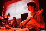 """Miquel Plana """"Zuma"""" -bajo- y Roger Palacín -batería y teclado- de Anímic (Bilborock, Bilbao, 2007)"""