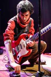 Oskar Benas, cantante y guitarrista de Zizateh (Bilborock, Bilbao, 2007)