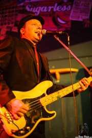 Todd Bradley, bajista y cantante de The Hi-Risers, Freakland Festival, Ponferrada. 2007