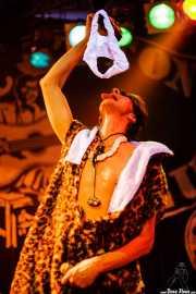 Johnny Rabb, cantante de The Neanderthals (Freakland Festival, Ponferrada, 2007)