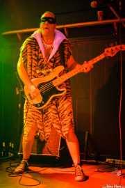 Todd Bradley, bajista de The Neanderthals (Freakland Festival, Ponferrada, 2007)