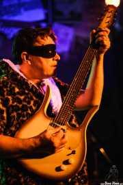 Eddie Angel, guitarrista de The Neanderthals (Freakland Festival, Ponferrada, 2007)
