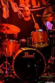 Blas Picón, baterista de The Nu Niles, Freakland Festival, Ponferrada. 2007