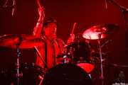 Fredrik Sandsten, baterista de The Soundtrack of Our Lives (Santana 27, Bilbao, 2007)