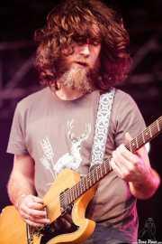 Stephen McBean, cantante y guitarrista de Black Mountain, Primavera Sound Festival, Barcelona. 2007