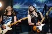 Dave Murray y Adrian Smith, guitarristas de Iron Maiden, Bilbao BBK Live, 2007