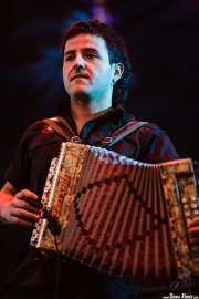 Xabi Solano, trikitrilari de Fermín Muguruza y Kontrakantxa (Bilbao BBK Live, Bilbao, 2007)