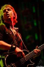 Micky Waters, bajista de The Answer, Azkena Rock Festival, Vitoria-Gasteiz. 2007