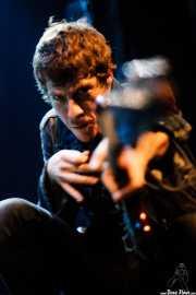 Ignacio Garbayo, cantante y guitarrista de Zodiacs, Bilbao. 2007