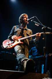 Ignacio Garbayo -cantante y guitarrista- y Miguel Guzmán -bajista- de Zodiacs, Bilbao. 2007