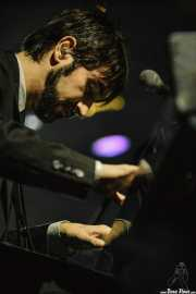 Alejandro Pelayo, pianista y xilofonista de Marlango, Santana 27, Bilbao. 2007