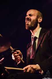 Gonzalo Maestre, baterista de Marlango, Santana 27, Bilbao. 2007