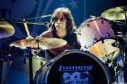 Marky Ramone, baterista de Marky Ramone's Blitzkrieg (Kafe Antzokia, Bilbao, 2008)
