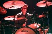 George Mazur, baterista de The Godfathers (Kafe Antzokia, Bilbao)