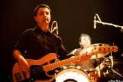 Andoni Lauzirika -bajista- y Mikel Sagarna -baterista- de Audience, Kafe Antzokia. 2008