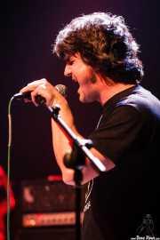 Oscar Gil, organista y armonicista de The Soulbreaker Company (Kafe Antzokia, Bilbao, 2008)
