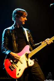 James Meynell, bajista de Wendy James & Racine (Plateruena Antzokia, Durango, 2008)