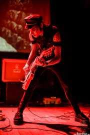 H. Zombie, guitarrista de Los carniceros del norte, Bilborock, Bilbao. 2008